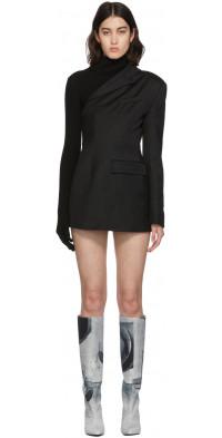 KIMHEKIM Black Trinity Jacket Dress
