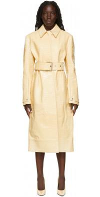 Kwaidan Editions Croc Belted Coat