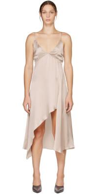 Le Kasha Silk Niye Mid-Length Dress