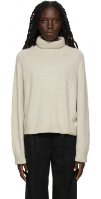 Loulou Studio Beige Ciervo Sweater