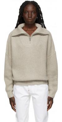 Loulou Studio Beige Tierra Sweater