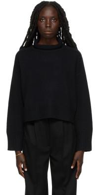 Loulou Studio Black Stintino Sweater
