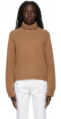 Loulou Studio Tan Ciervo Sweater