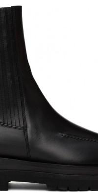 Magda Butrym Black Lug Combat Boots