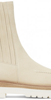 Magda Butrym Off-White Lug Combat Boots