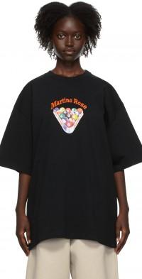 Martine Rose Black Brittle T-Shirt