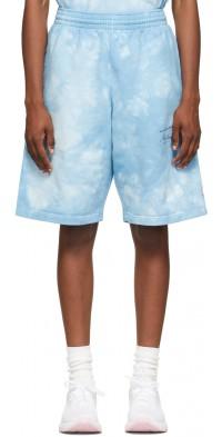 Martine Rose Blue Barambo Shorts