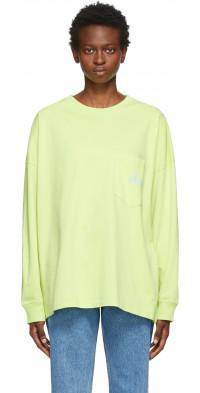 Martine Rose Green Warung Long Sleeve T-Shirt