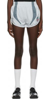 Martine Rose Grey Zapper Shorts