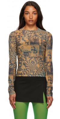 Miaou Graphic Long Sleeve T-Shirt