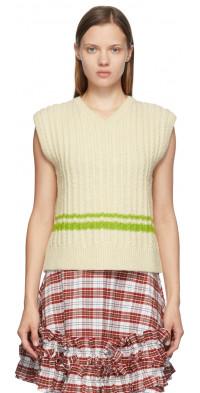 Molly Goddard Off-White Vaughan Vest