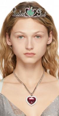Poster Girl SSENSE Exclusive Silver Serpent Tiara