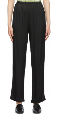 Raquel Allegra Black Vintage Phoenix Trousers