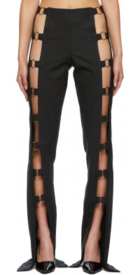 Rave Review Black Gaga Trousers