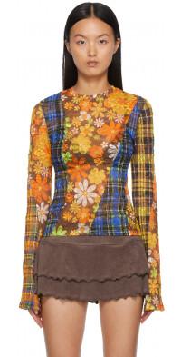Rave Review Multicolor Nirvana Lace T-Shirt