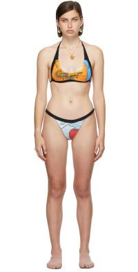 Rave Review SSENSE Exclusive Multicolor June Juno Bikini