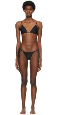 SIR. Black Hendry String Bikini