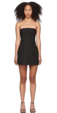 SIR. Black Maxe Mini Dress