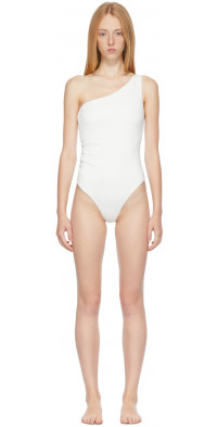 SIR. White Hendry One-Piece Swimsuit