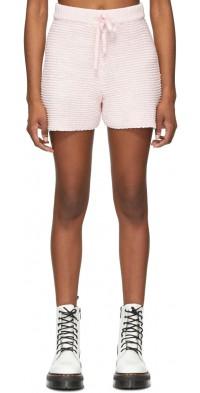 SJYP Pink Knit Shorts