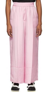 SJYP Pink Wide Leg Lounge Pants