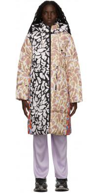 Stine Goya Multicolor Oak Puffer Coat