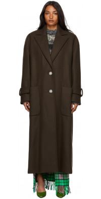 The Attico Wool Coat
