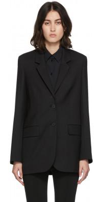 The Row Black Dustina Jacket