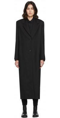 The Row Black Maeve Coat