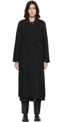 The Row Grey Fleur Coat