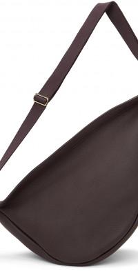 The Row Purple Large Slouchy Banana Bag