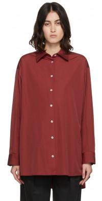 The Row Red Luka Shirt