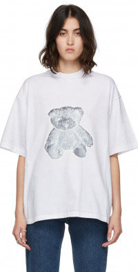 We11done Off-White Teddy T-Shirt