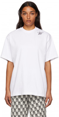 We11done White Logo T-Shirt