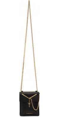Y/Project Black & Gold Y Pochette Mini Bag