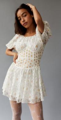 For Love & Lemons Lupita Mini Dress