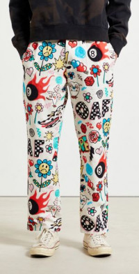 Lazy Oaf Airbrushed Pant