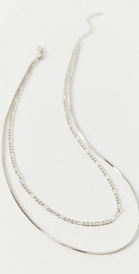 Luv Aj Cecilia Chain Layer Necklace