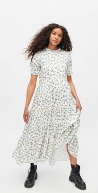 Sister Jane Wild Flower Tiered Midi Dress