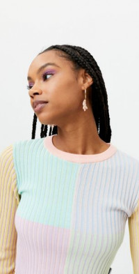 The Ragged Priest Solstice Cropped Sweater