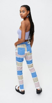 The Ragged Priest Vision Patchwork Jean